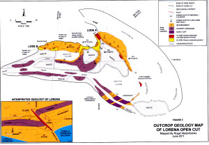 Geol map Lorena open cut