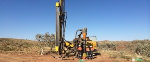RC drilling for gold in West Australia