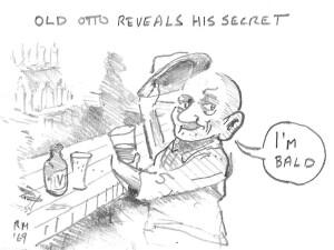 Old Otto reveals his secret