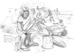 Aboriginal tin mining Marble Bar 1970 v2