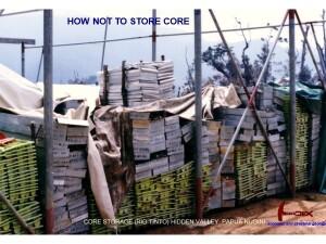 Hidden Valley Core Storage