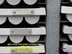 Homestake Core Storage